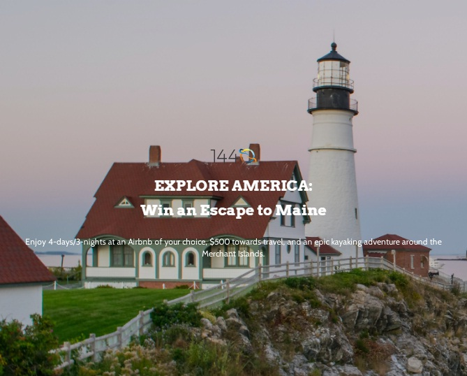 1440 Win An Escape To Maine Giveaway