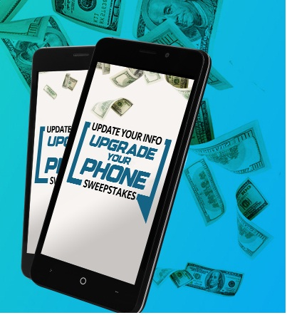 Credit One Bank Update Your Info, Upgrade Your Phone Sweepstakes