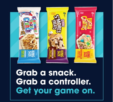 General Mills Treat Bars PlayStation Now Sweepstakes