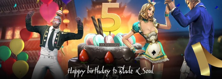 Blade And Soul 5th Anniversary Battle Station Sweepstakes
