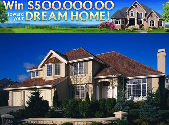 PCH $500k Dream Home Sweepstakes