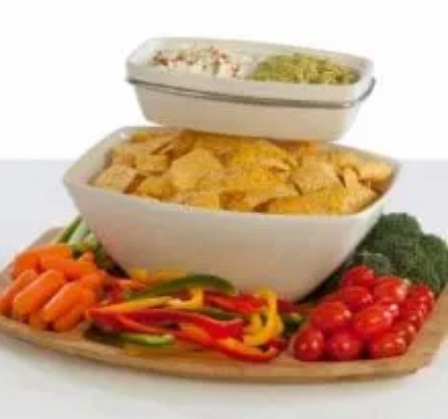 Table Styles Three-Piece Chip N Dip Set Giveaway