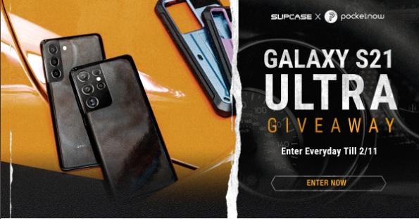 SUPCASE And Pocketnow Galaxy S21 Or S21 Ultra Giveaway