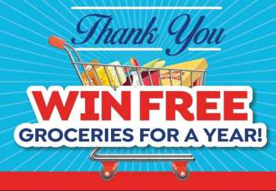 Save-A-Lot Free Groceries For A Year Sweepstakes