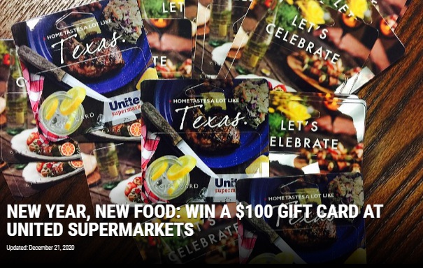 Townsquare Media New Year New Food Giveaway