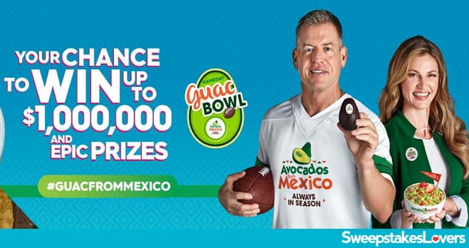 Gameday Guac Bowl Sweepstakes
