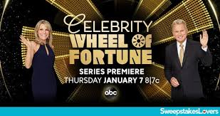 Wheel Of Fortune Celebrity $10000 Giveaway