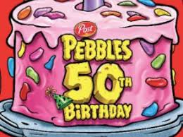 Happy Birthday Pebbles Cereal Contest