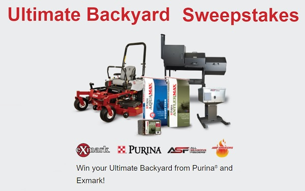 Purina Mills Ultimate Backyard Sweepstakes