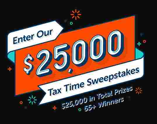 Netspend $25000 Tax Time Sweepstakes