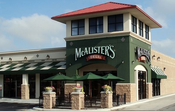 Talk to McAlister's Guest Satisfaction Survey
