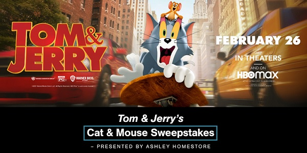 Ashley Furniture Tom and Jerry Sweepstakes