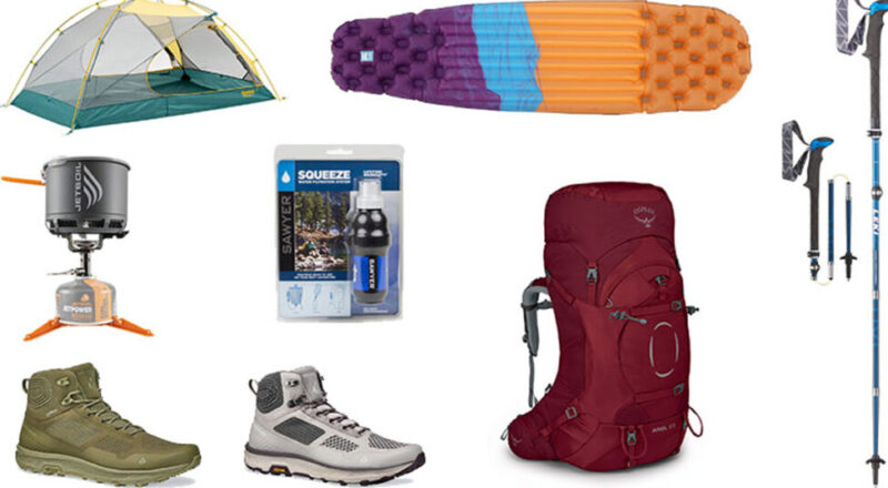 Summits and Sunsets Backpacking Giveaway