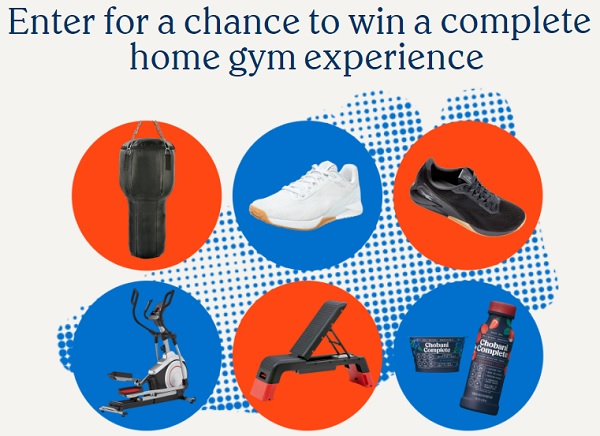 Chobani Reebok Home Gym Makeover Sweepstakes