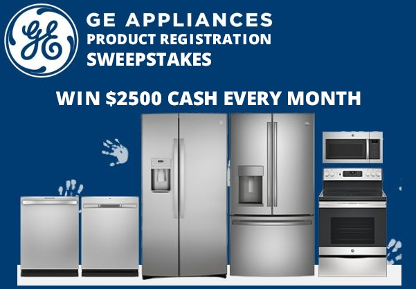 GE Appliances Product Registration Sweepstakes