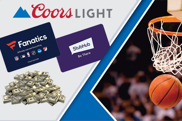 Coors Light March Hoops Sweepstakes