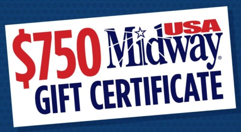 MidwayUSA's Gift Card Giveaway