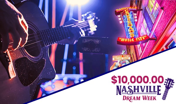 PCH Nashville Dream Week Sweepstakes
