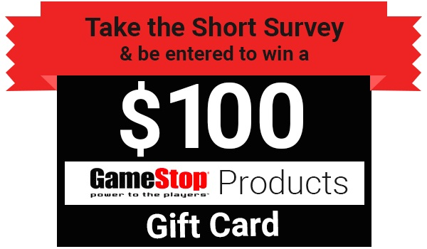 Tell Gamestop Feedback Survey Sweepstakes