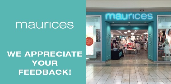 Tell Maurices Feedback Customer Satisfaction Survey