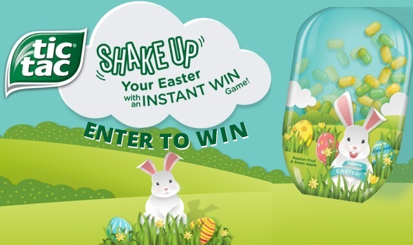 Tic Tac Shake It Up Easter Game Sweepstakes