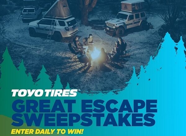 Toyo Tires Great Escape Sweepstakes
