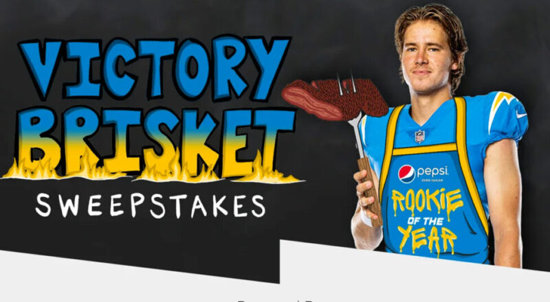 """The """"Victory Brisket"""" Sweepstakes"""
