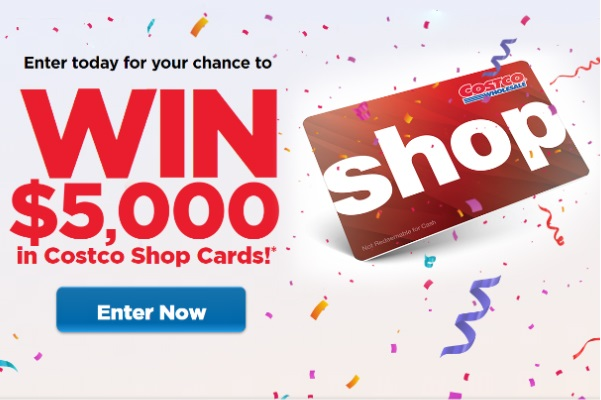 Costco Shop Cards Contest