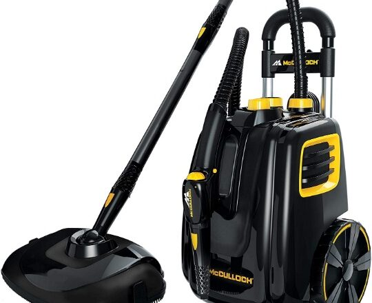 McCulloch Deluxe Canister Steam Cleaner Giveaway