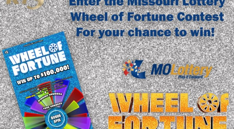 KY3 Missouri Lottery Wheel of Fortune Contest