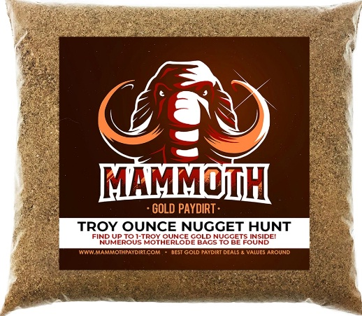 Mammoth Gold Paydirt Giveaway