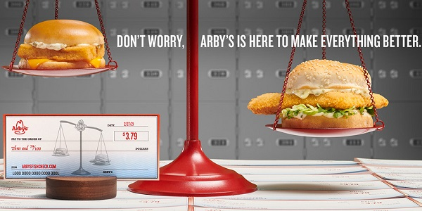Arby's Fish Check Sweepstakes