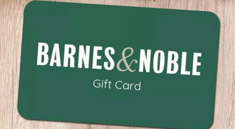 $250 Barnes & Noble Gift Card Giveaway