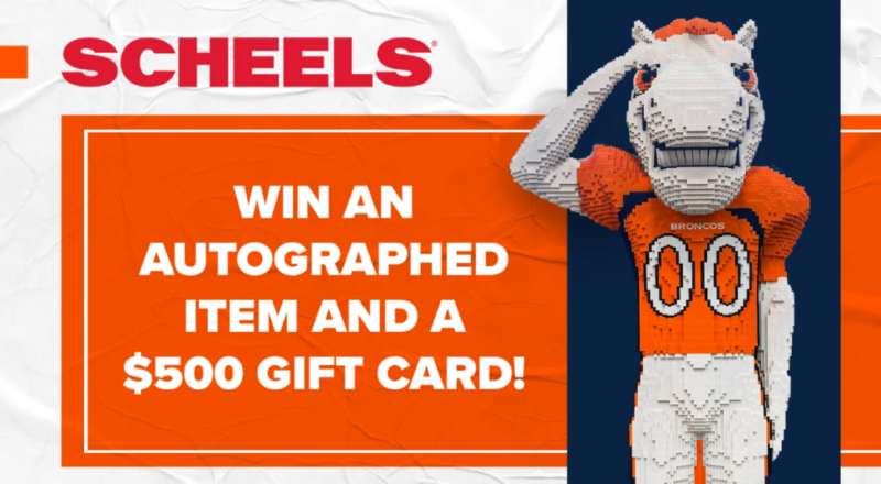 Broncos and Scheels All Sports Sweepstakes