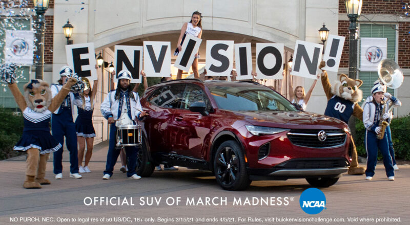 Buick Envision Greatness Challenge Sweepstakes