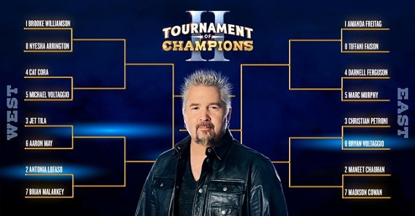 Food Network Tournament of Champions Bracket Sweepstakes