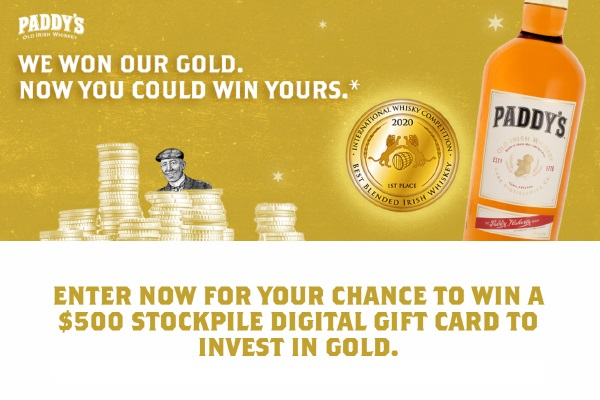 The Paddy's Gold Giveaway
