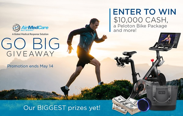 AirMedCare Network's Go Big Giveaway Sweepstakes