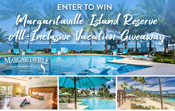 Margaritaville's Island Escape Sweepstakes