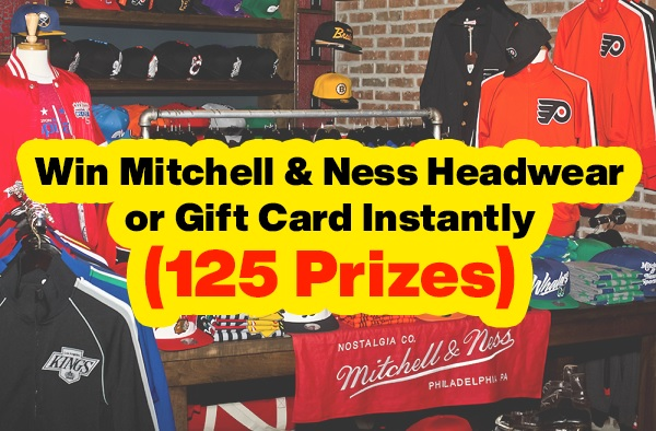 Mitchell & Ness Budweiser Instant Win Game
