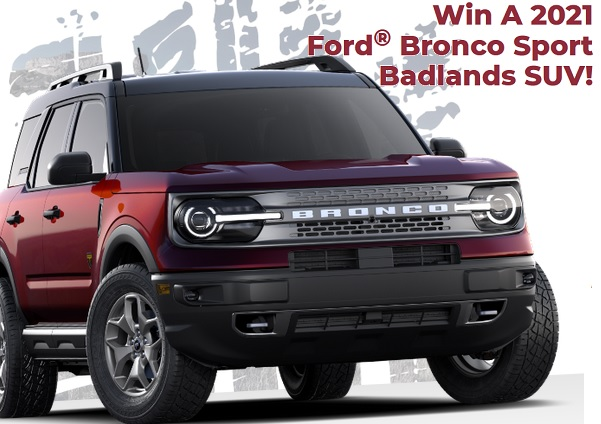 PCH Ford Bronco Sweepstakes
