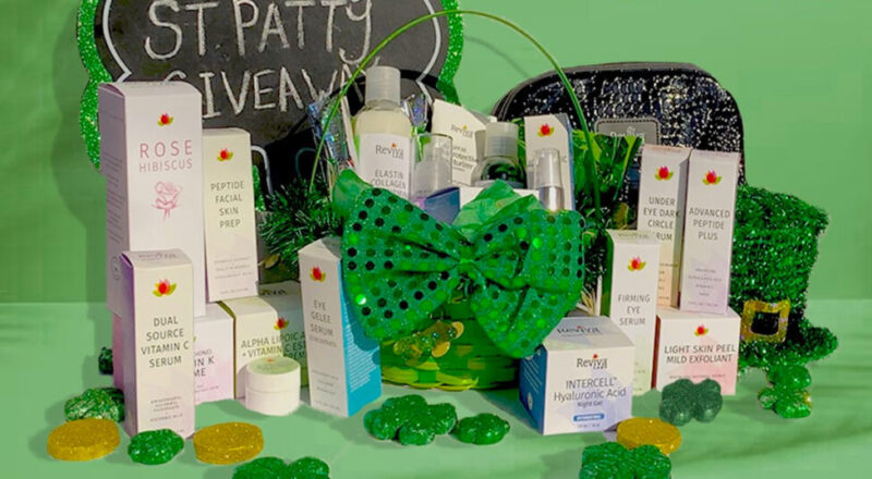Reviva's St Patty's Day Giveaway