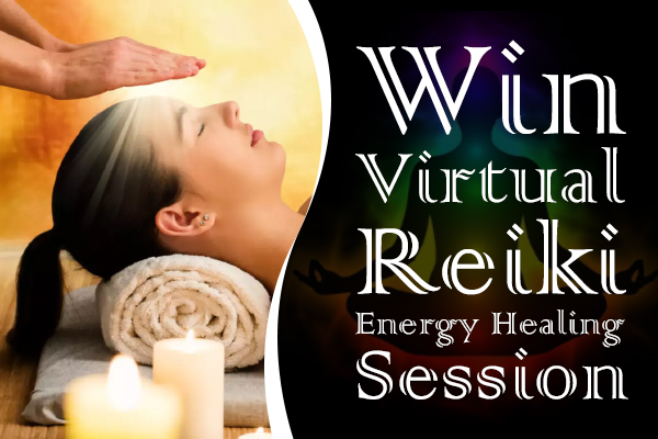 Free Reiki Healing Session Giveaway