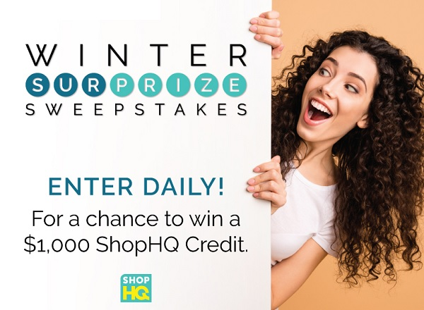 ShopHQ Winter Sweepstakes
