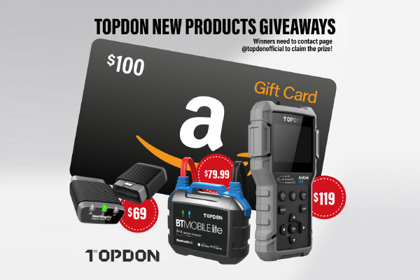Topdon New Products Giveaway
