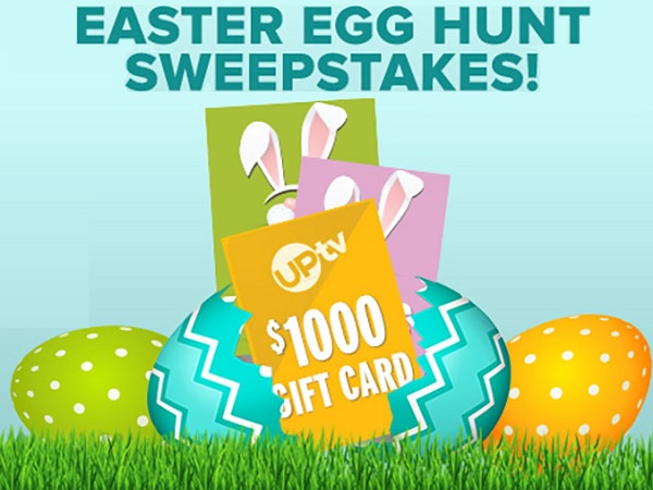 UP TV Easter Egg Hunt Sweepstakes