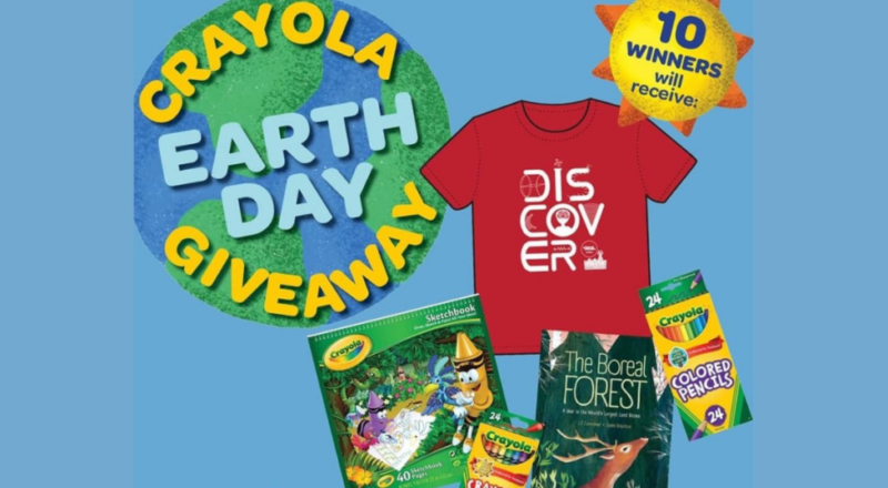 Crayola Earth Day Giveaway