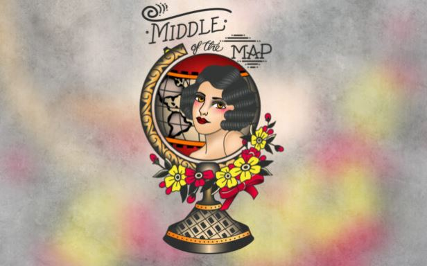 LAZER Weekend Middle Of The Map Tattoo Convention Contest
