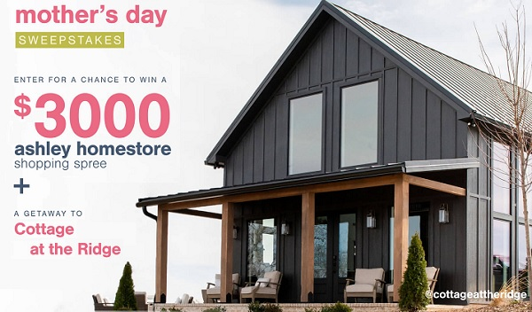 Ashley Furniture Mother's Day Sweepstakes
