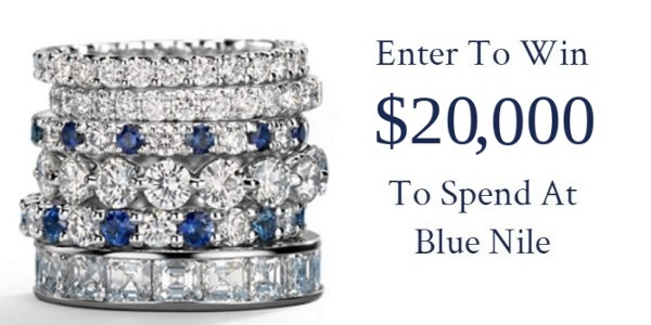 Blue Nile $20000 Jewelry Giveaway